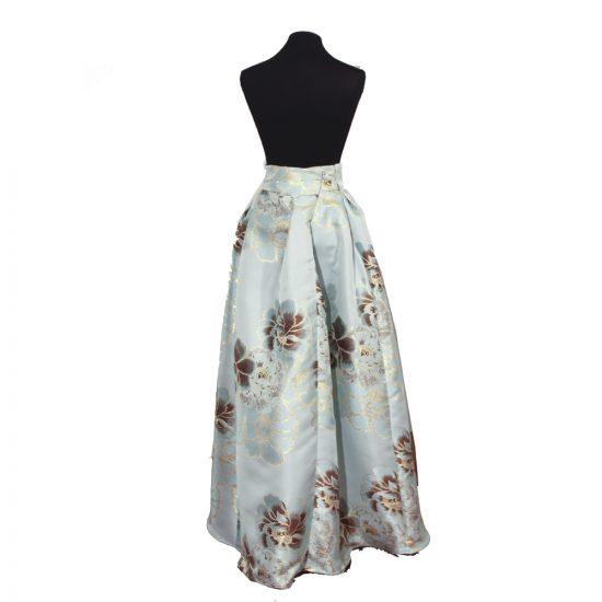 falda-tablas-azul-celeste-flores-doradas-MH20V209236-talla42-soria-novias